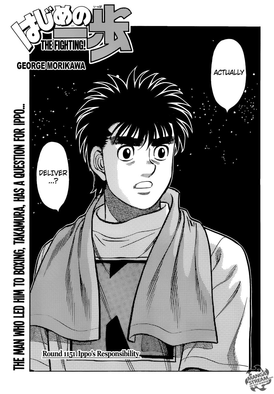Read Manga Hajime No Ippo 1151 Online In High Quality