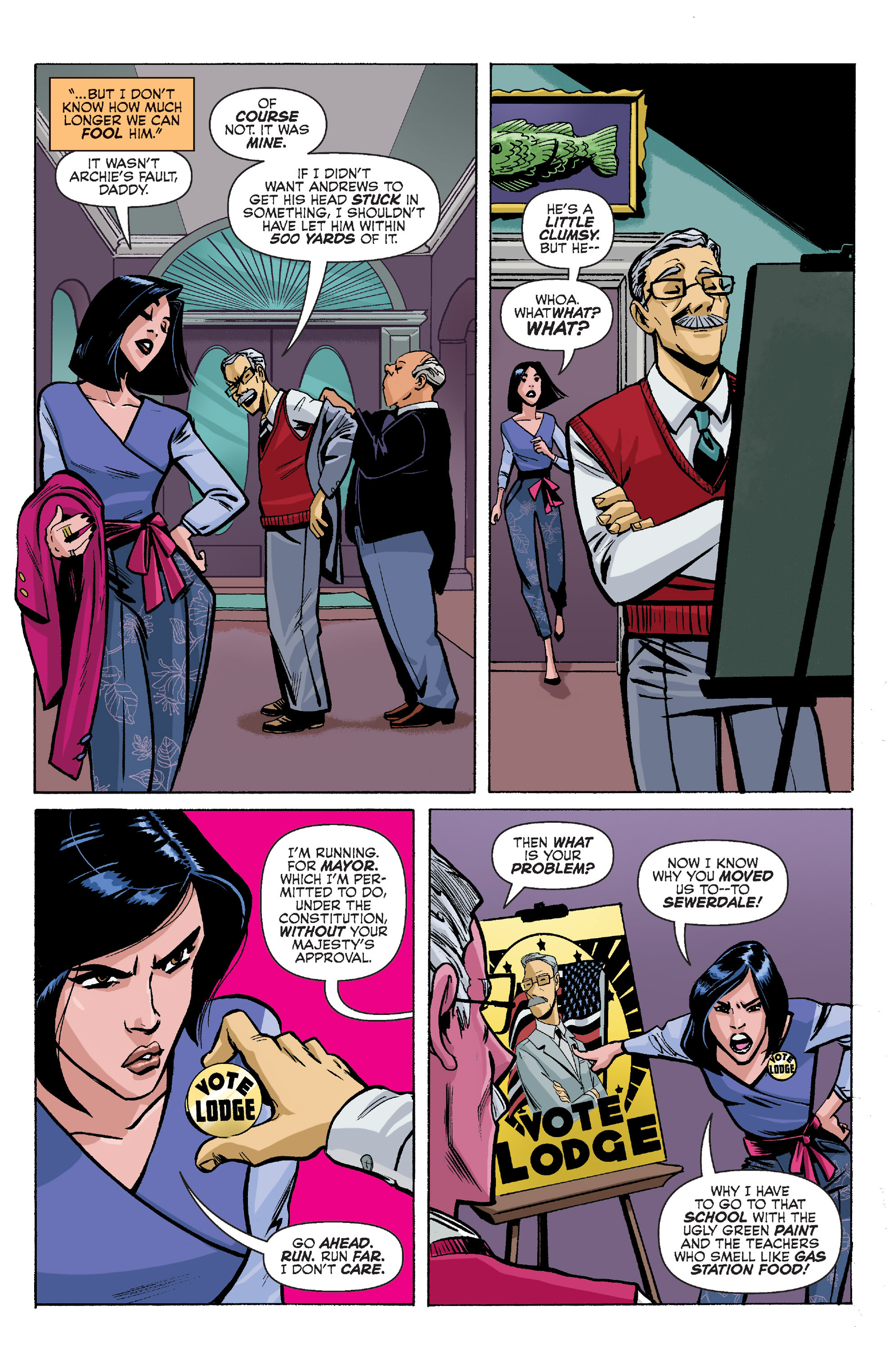 Read online Archie (2015) comic -  Issue #8 - 5