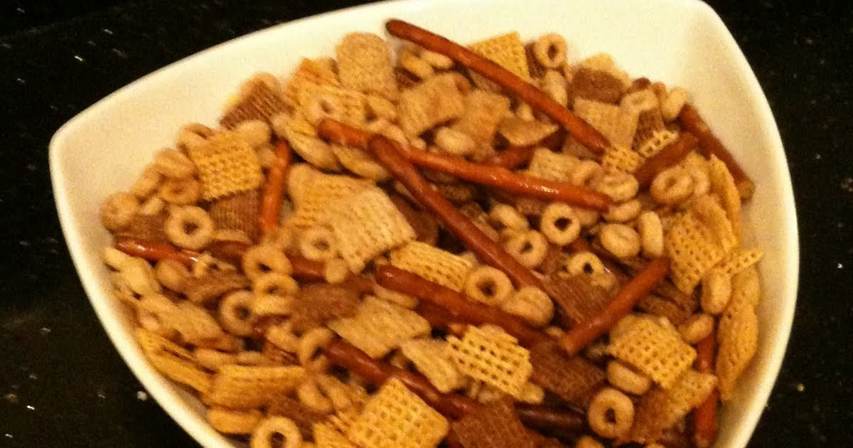 My Favorites Chicken Feed Aka Chex Mix