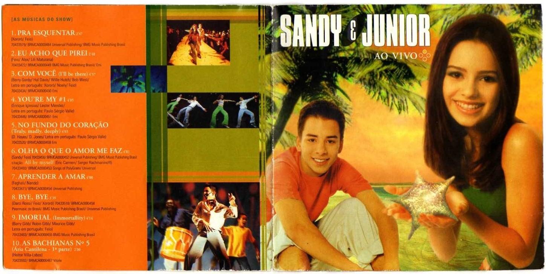 cd sandy e junior as quatro estacoes