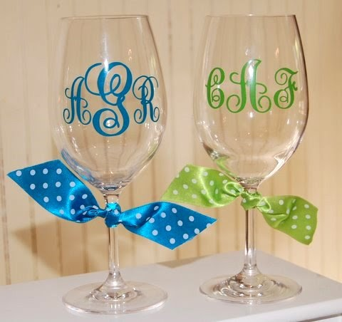 Be My Guest Personalized Acrylic Wine Glasses