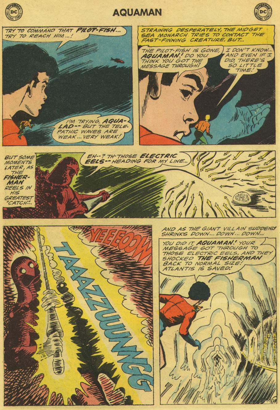 Aquaman (1962) Issue #21 #21 - English 31