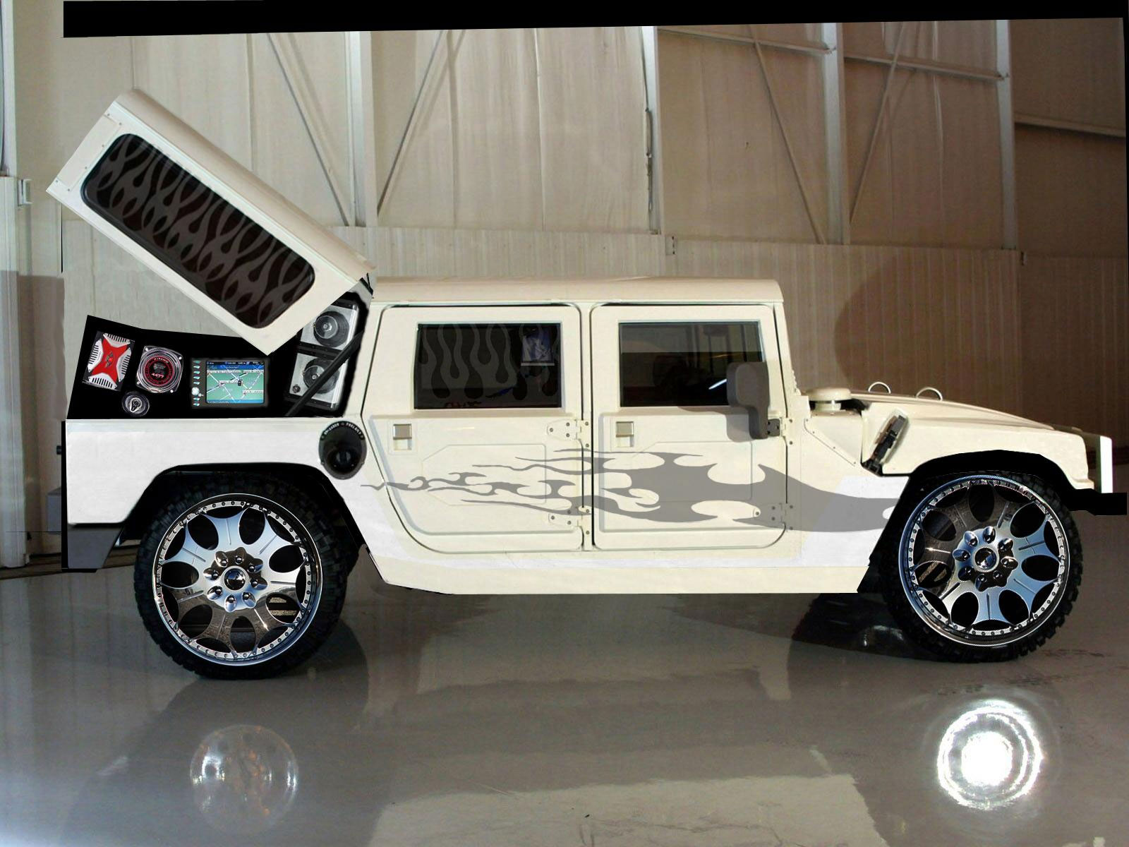 all info Hummer H3 jeep