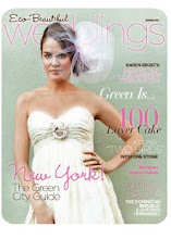 As seen on page 71 of Eco-Beautiful Weddings E-zine
