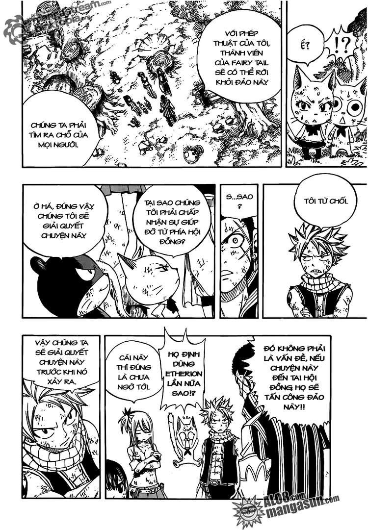 Fairy Tail chap 228 trang 23