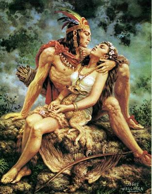 amor indio jesus helguera