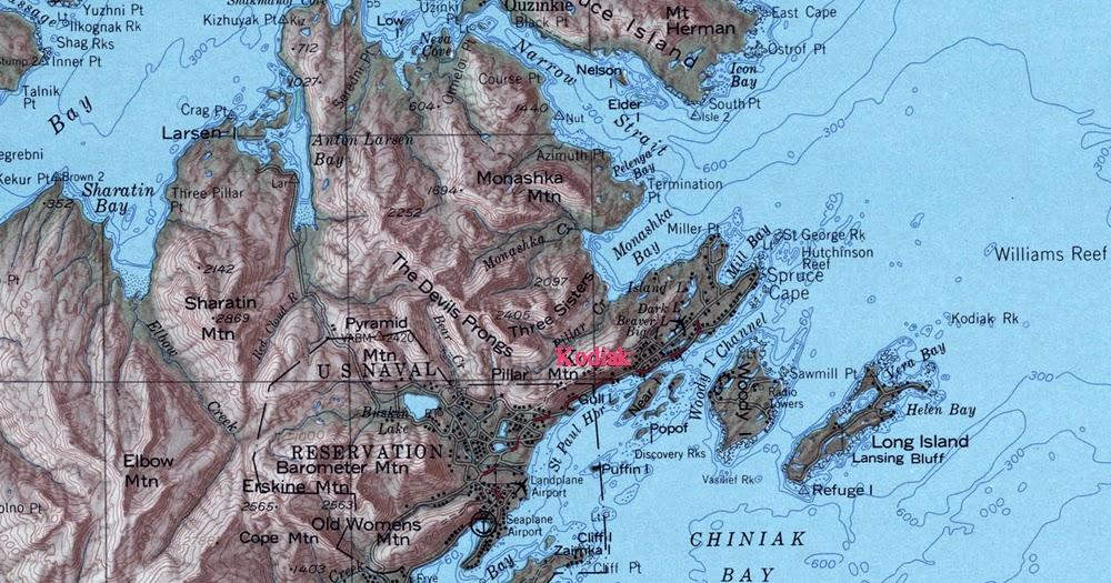Northwest Explorer Hiking Kodiak Island 2009