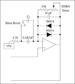 TS9 Tube Screamer Mods: Bass Boost