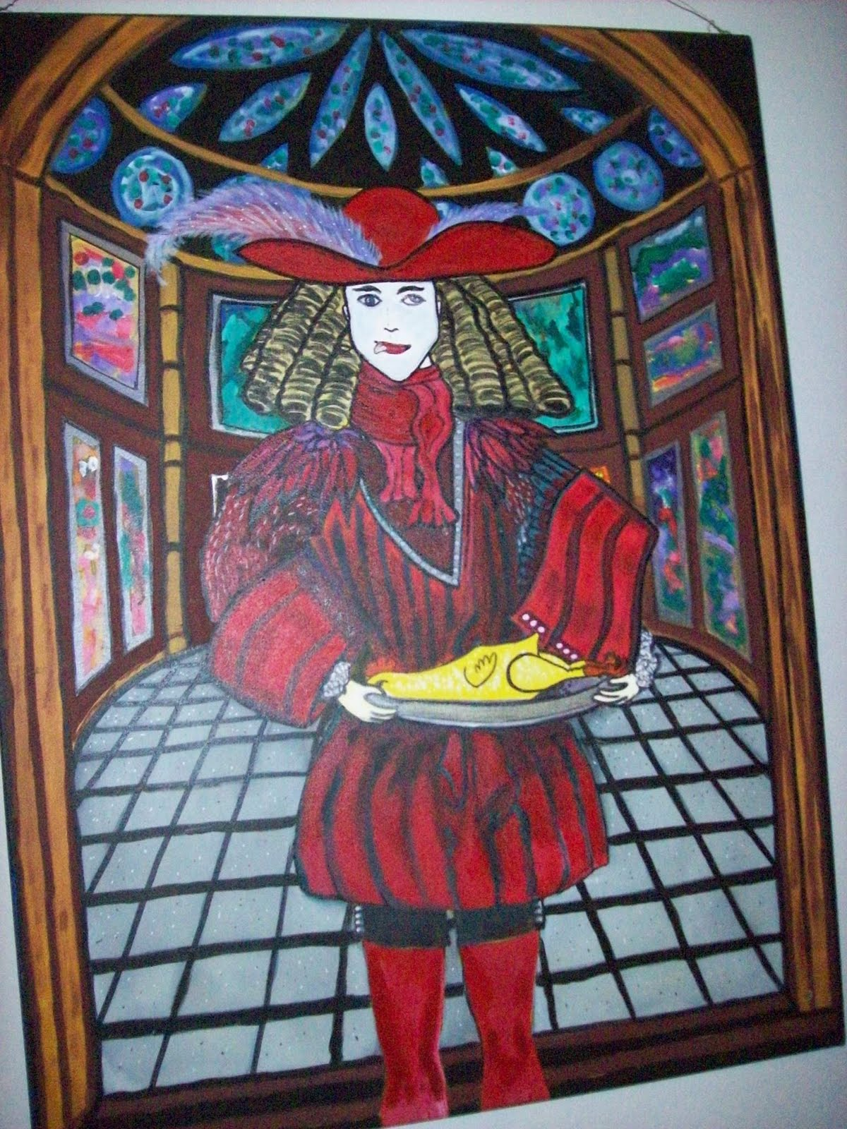 The Celebrated Rubber Chickens Of Dingo Dizmal: Tarot Card