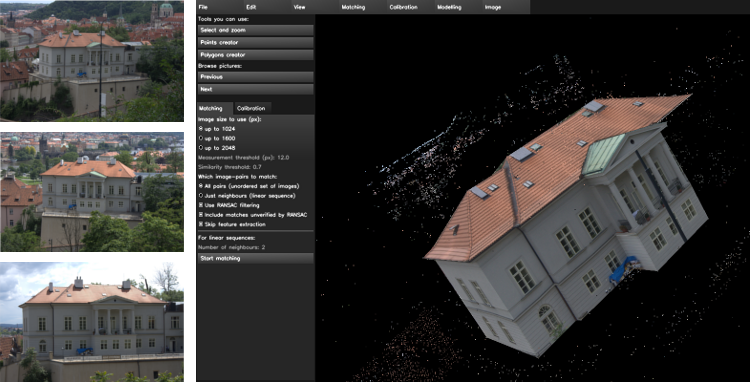 Insight3D : Open Source modeling from photographs
