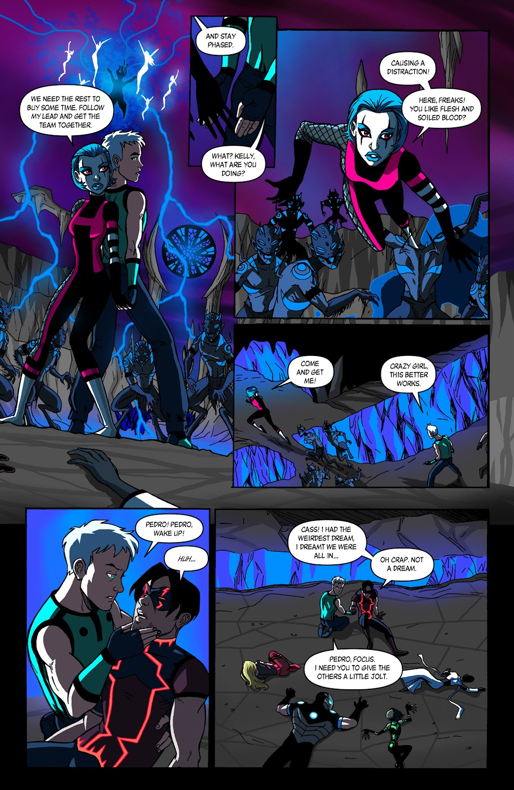 Sentinels issue 3 - Page 9