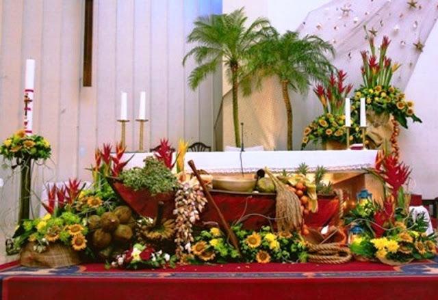 Tata Cara Merangkai Bunga Altar
