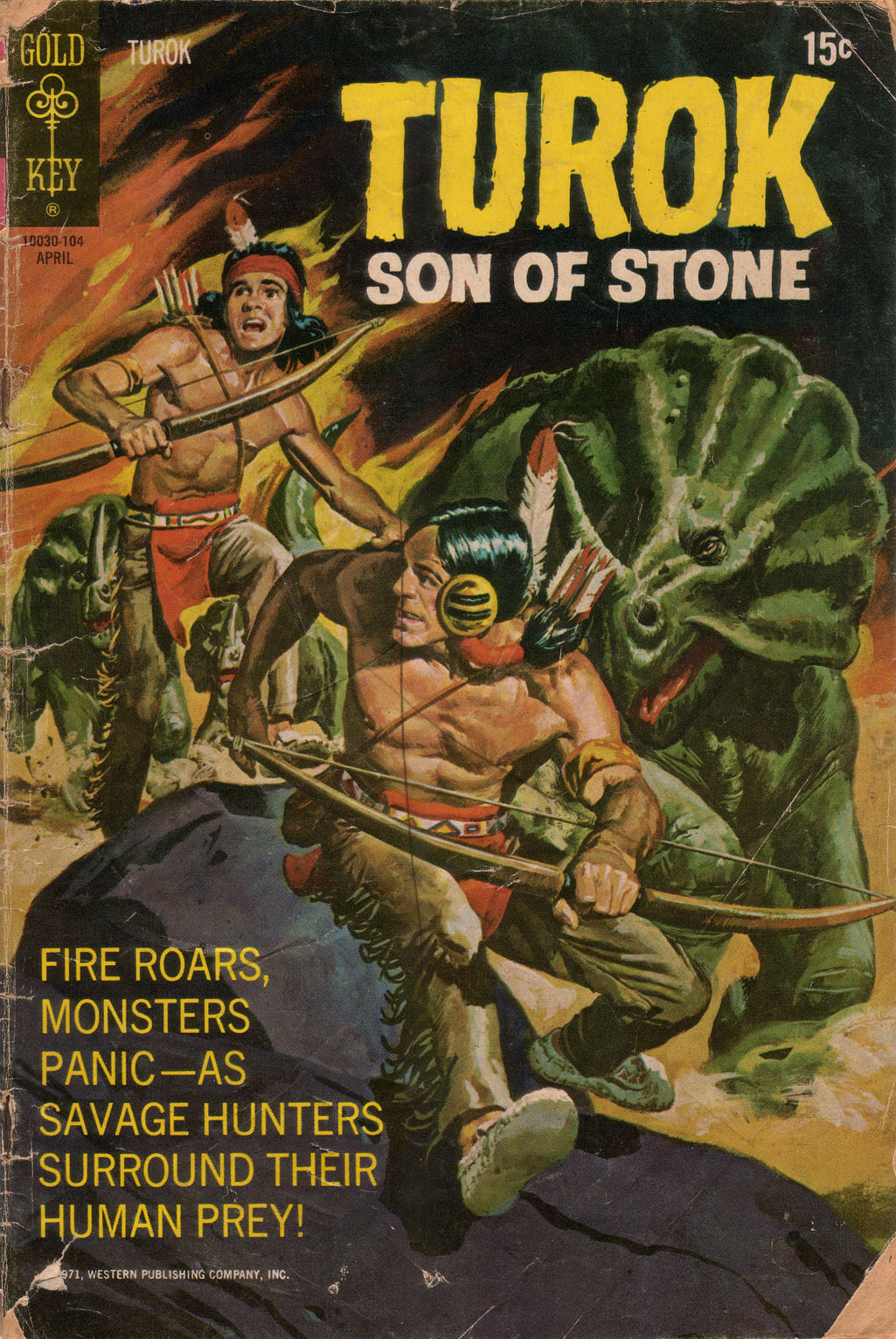 Read online Turok, Son of Stone comic -  Issue #73 - 1