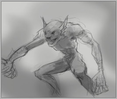 how to draw fantasy creatures step by step