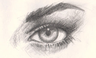 How to draw eye realistic