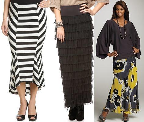 991805d59c Trend Shopping: Maxi Skirts