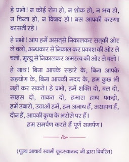 Swami Kutasthanandji Pravachan: November 2008