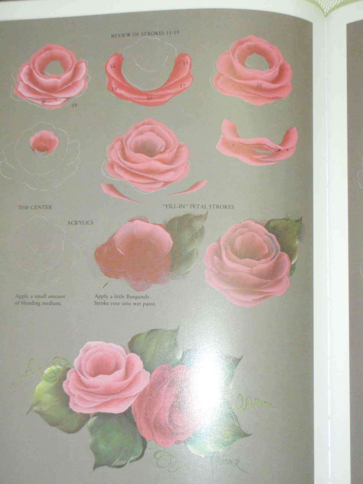 Ruby Crafty Fingers Priscilla Hauser S Book Of Decorative Painting