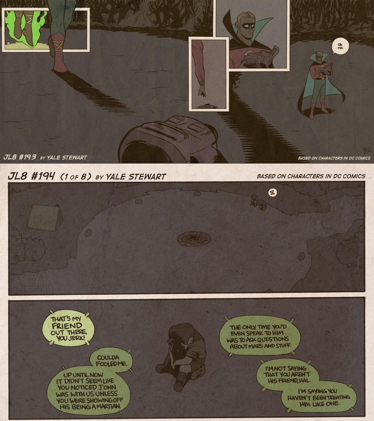 Read online JL8 – The Complete Collection comic -  Issue # TPB (Part 2) - 13
