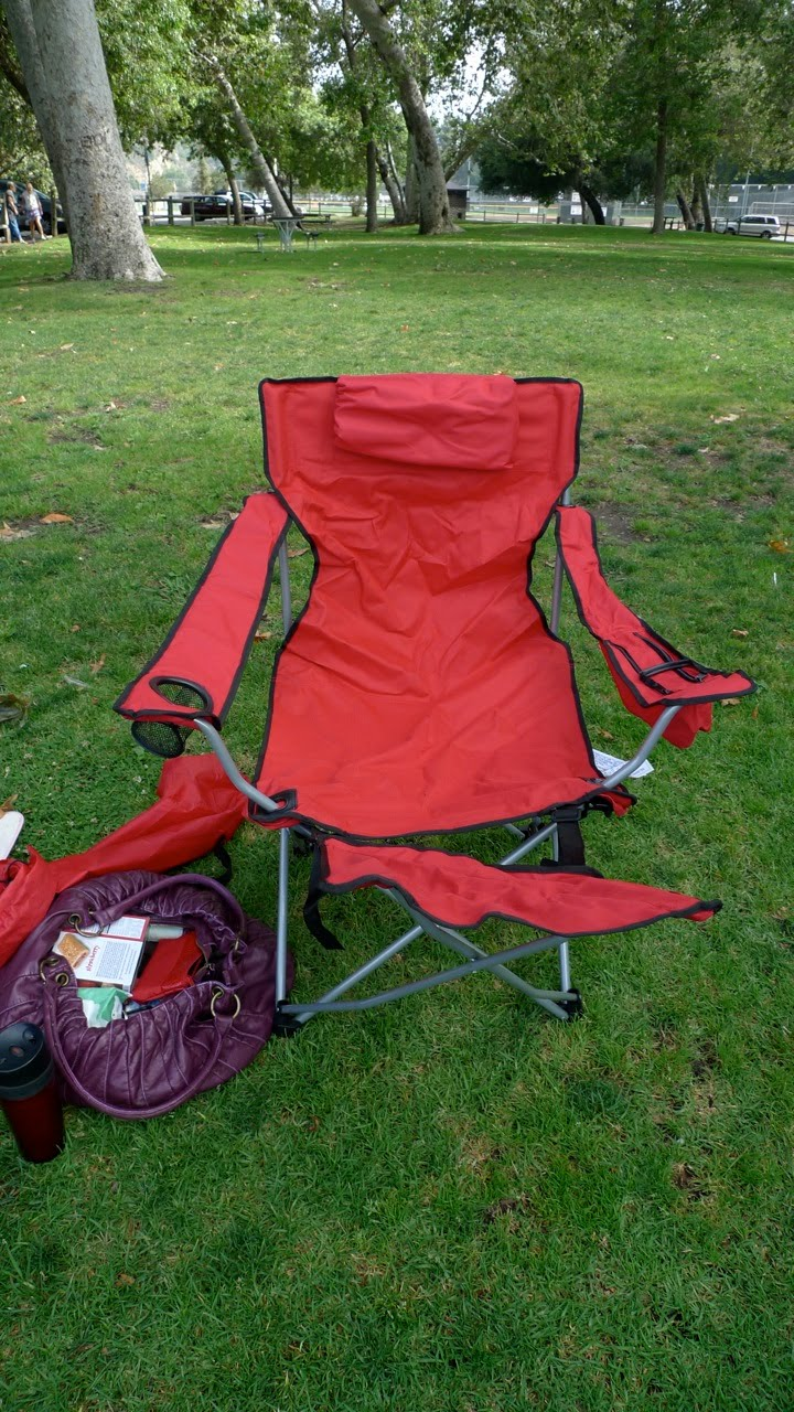 soccer mom covered chairs wheelchair for patients camp day 2 yesterday i stopped putting off the inevitable embraced next parental rite of passage and bought a chair did not realize that my ten