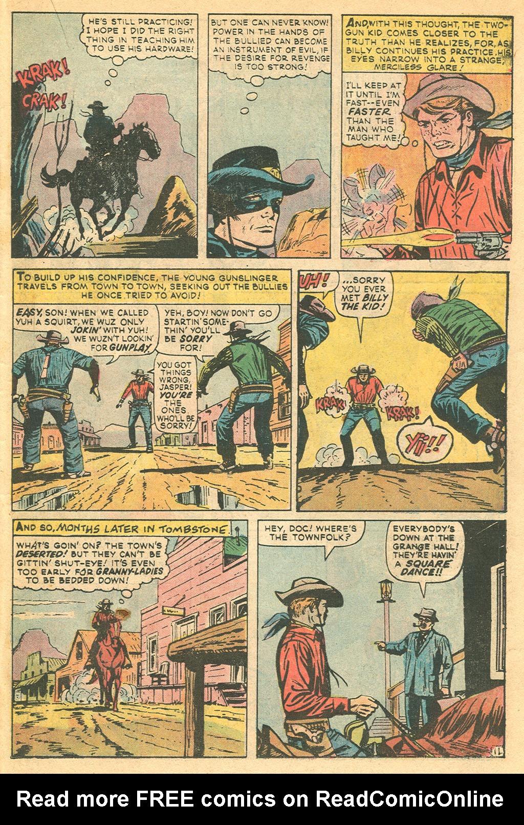 Read online Two-Gun Kid comic -  Issue #115 - 19