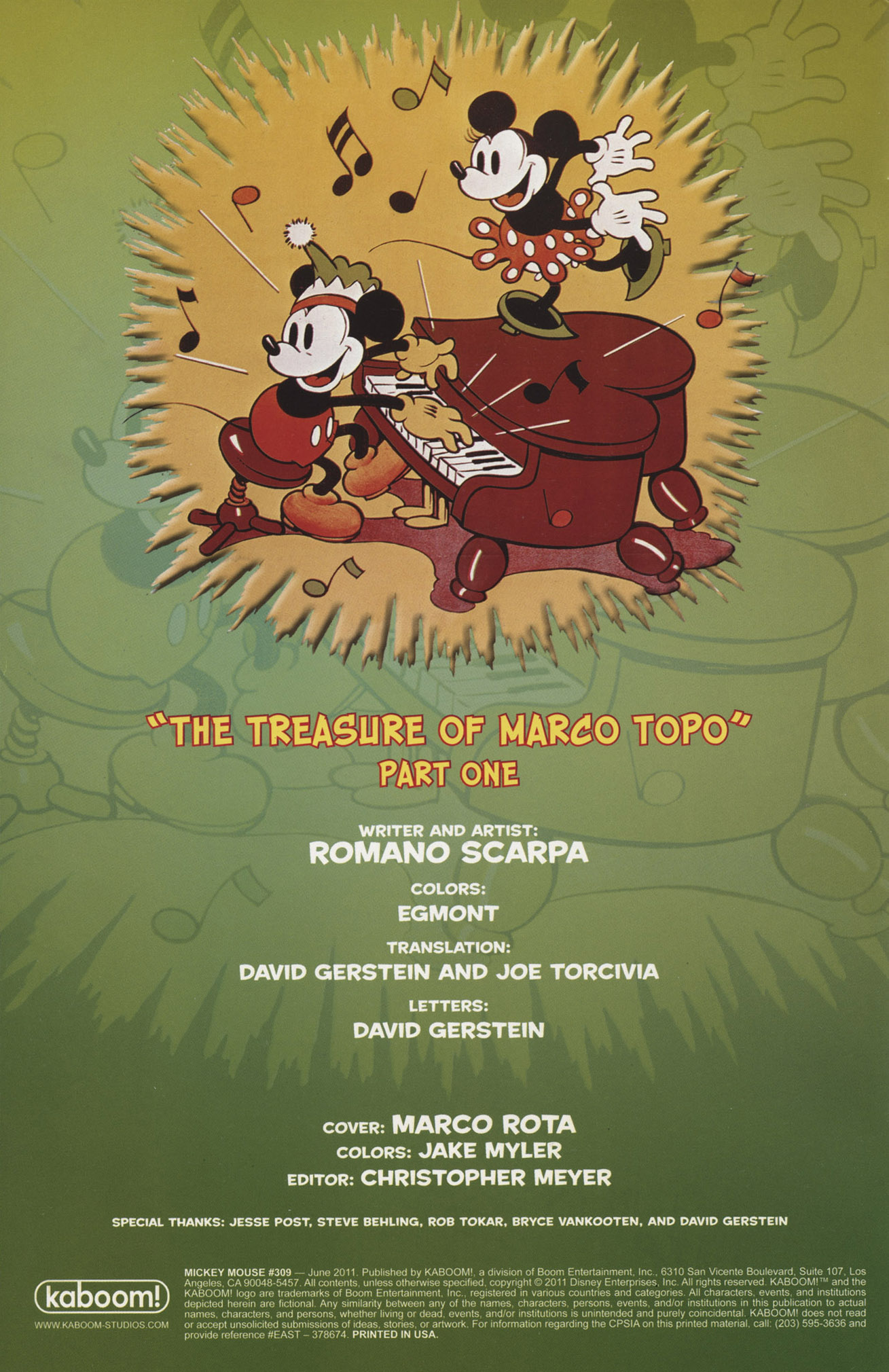 Read online Mickey Mouse (2011) comic -  Issue #309 - 2