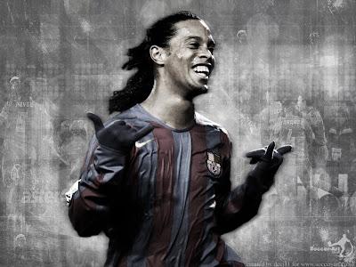 Football Wallpaper Ronaldinho Celebration 1024 X 768
