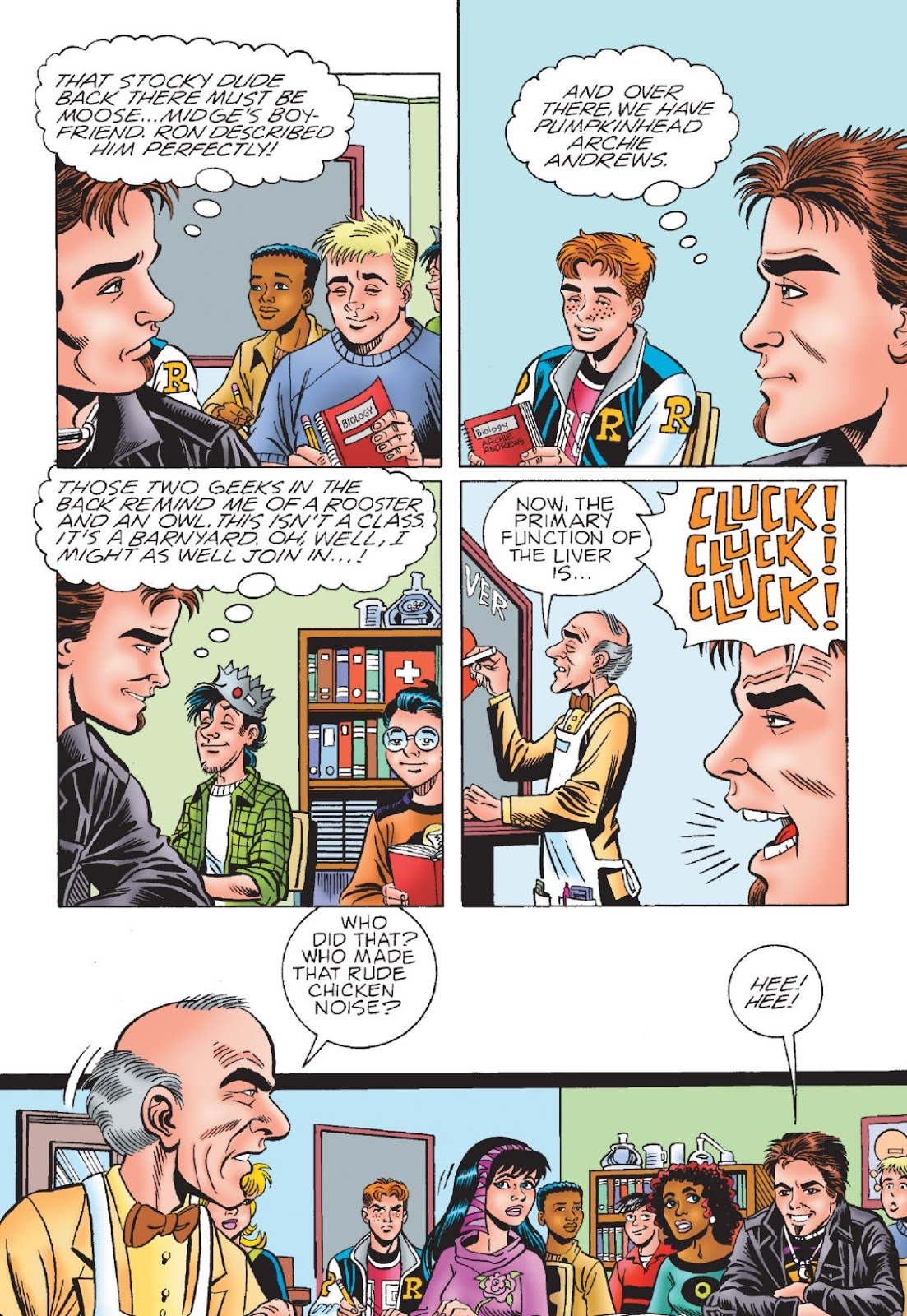 Read online Archie's New Look Series comic -  Issue #1 - 34