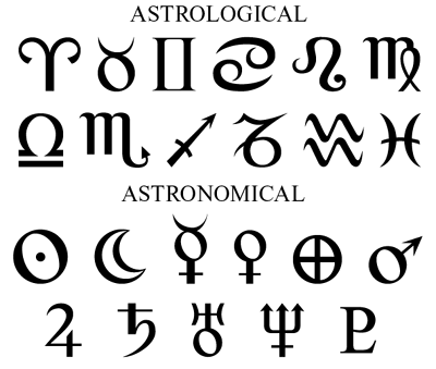 astronomical symbols for planets - photo #12