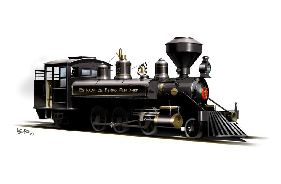 2-6-2T tank locomotive