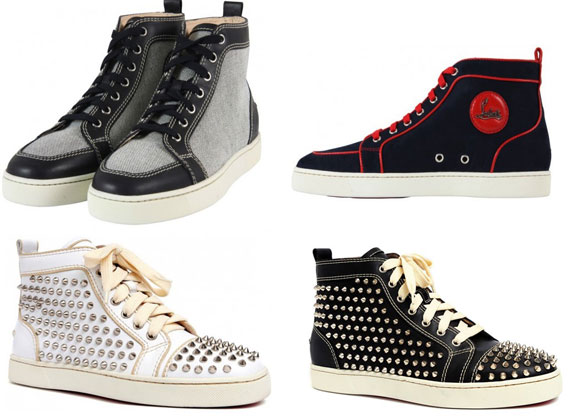 accca0eb7581 HintOfGlitter  Men s Fashion Alert  Christian Louboutin Mens Spiked ...