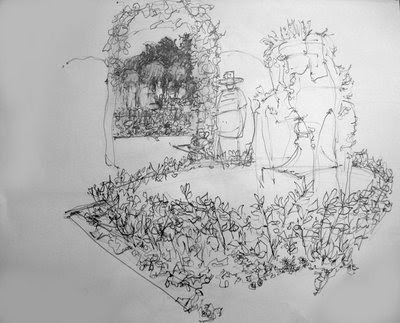 Reportage Drawing