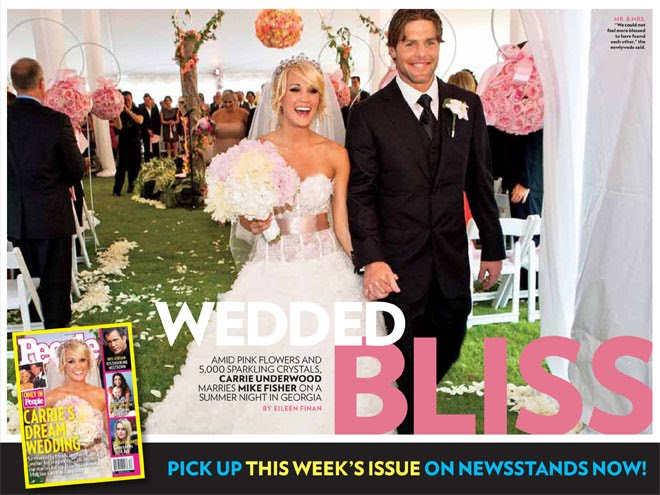 Carrie Underwood Wedding Pictures
