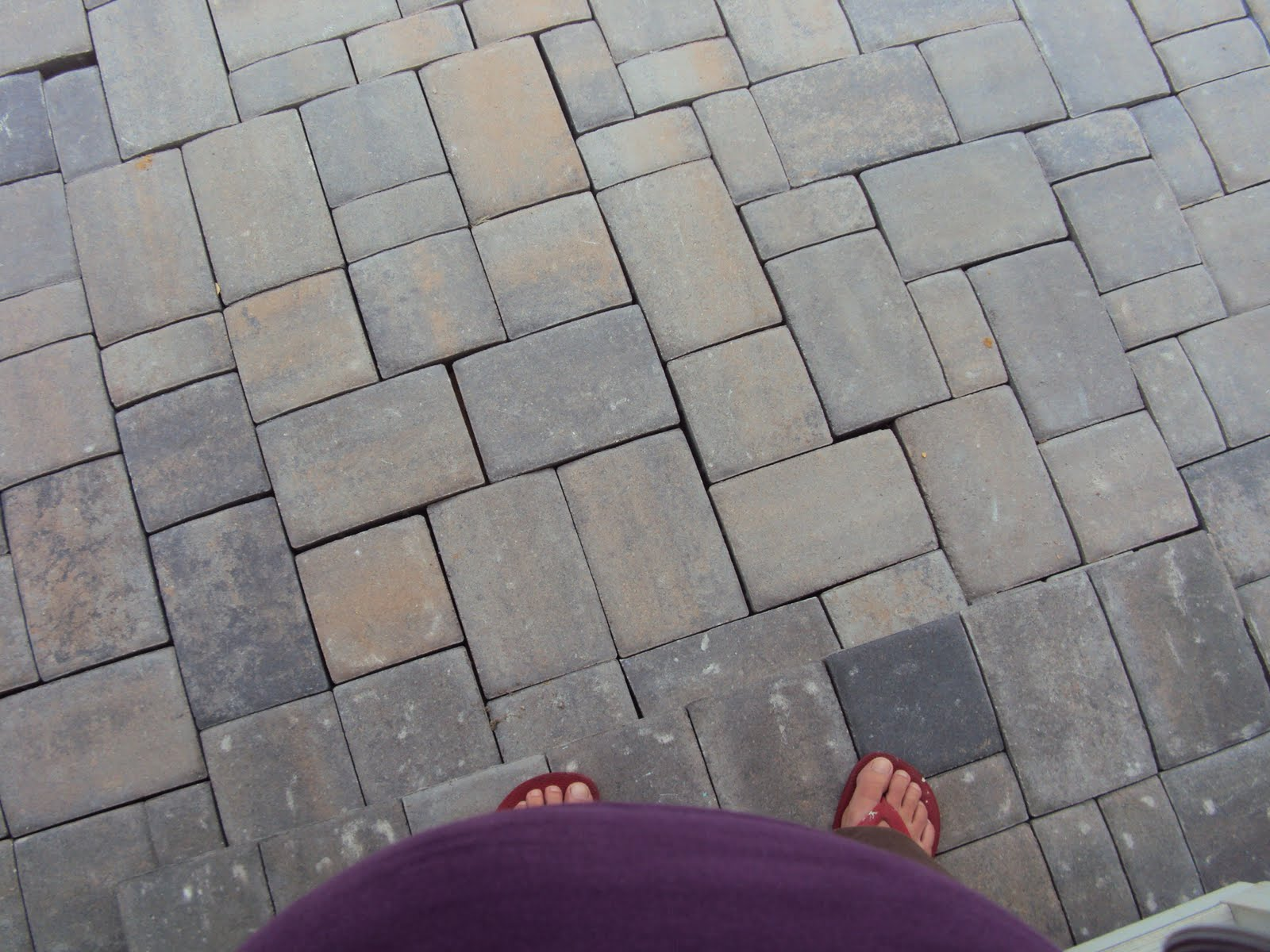 Portly Groundskeeper Summer Project Paver Patio