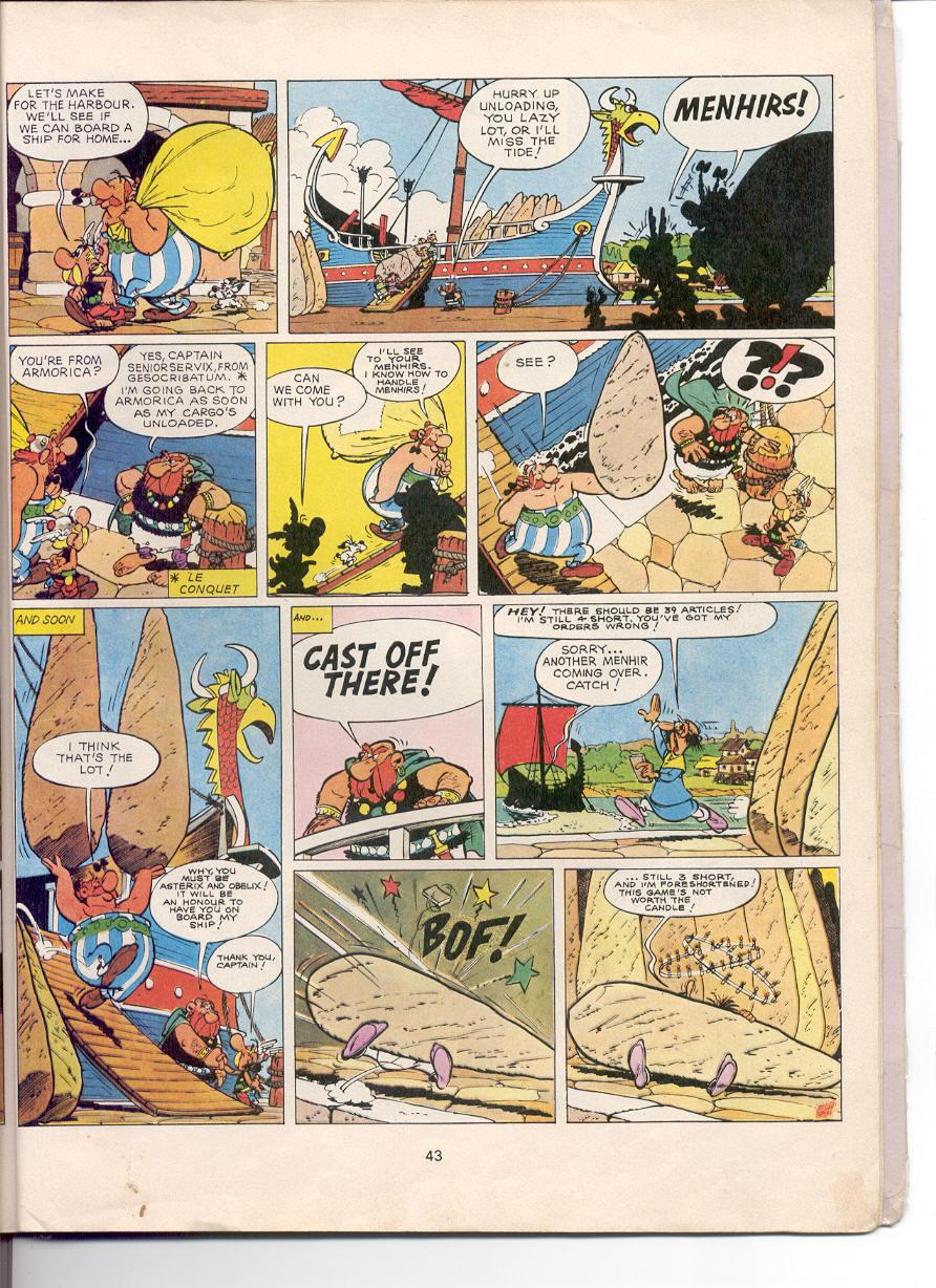 Asterix issue 5 - Page 40