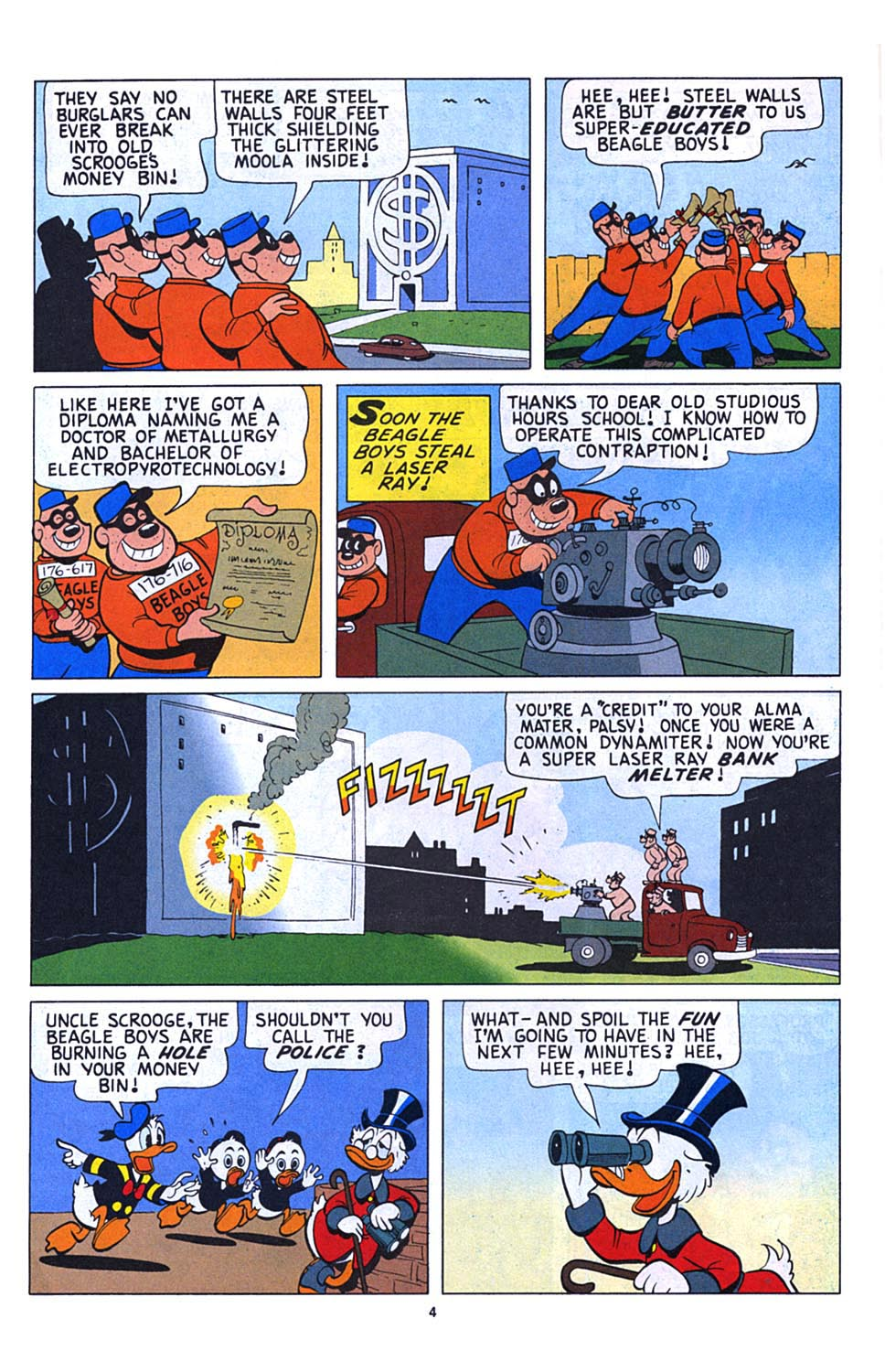 Read online Uncle Scrooge (1953) comic -  Issue #273 - 5