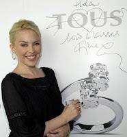 Kylie Minogue promociona las joyas de Tous