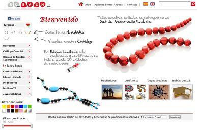 50ofEach, joyas, collares, pendientes y pulseras de perlas, coral, lava y piedras semipreciosas