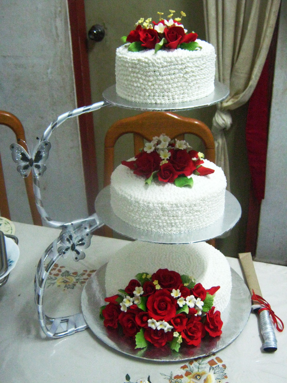 wedding cake stand malaysia midnite baker bangi 3 tier wedding cakes 25637