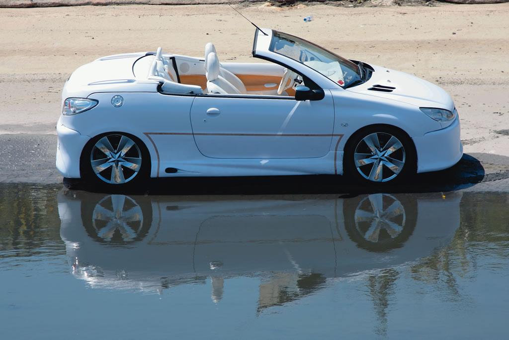 speedo car peugeot 206cc top tuning new cars car reviews. Black Bedroom Furniture Sets. Home Design Ideas