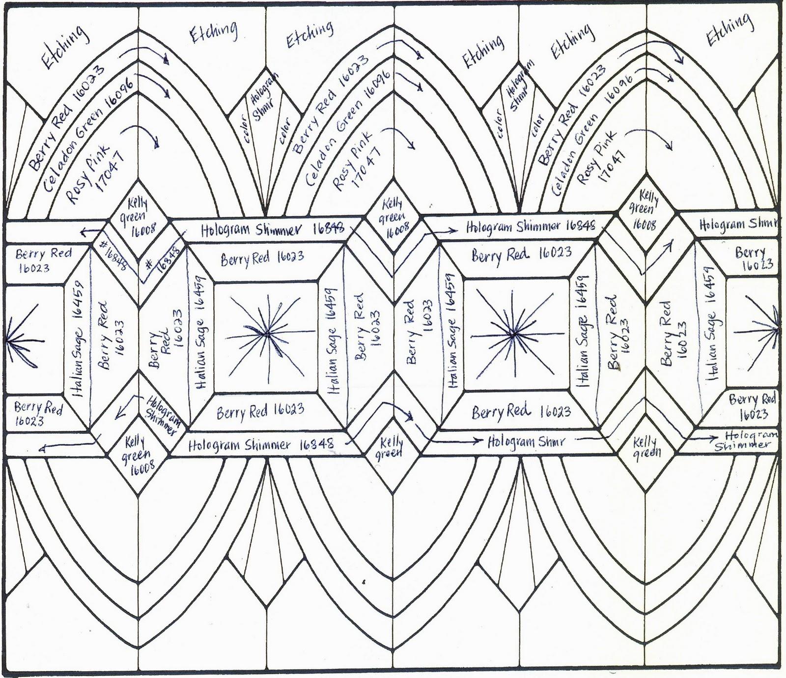 Art Deco Glass Patterns Design Patterns