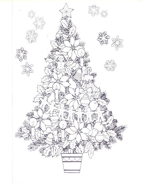 Christmas Tree Templates Oh My Fiesta! in english