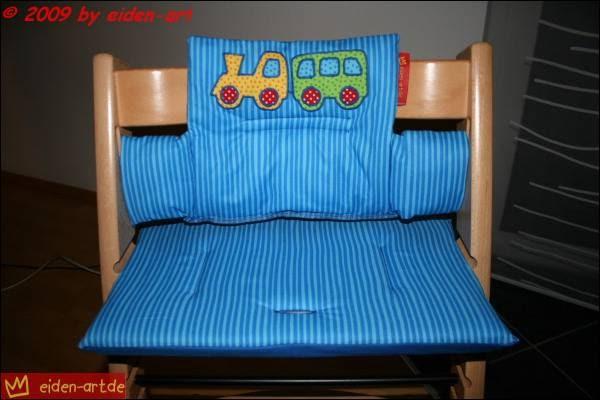 eiden art ein sitzkissen f r das tripp trapp. Black Bedroom Furniture Sets. Home Design Ideas