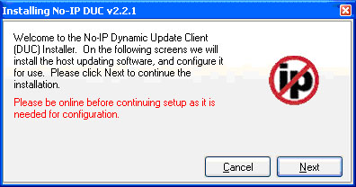Setup dynamic ip software for your cctv web server at your home
