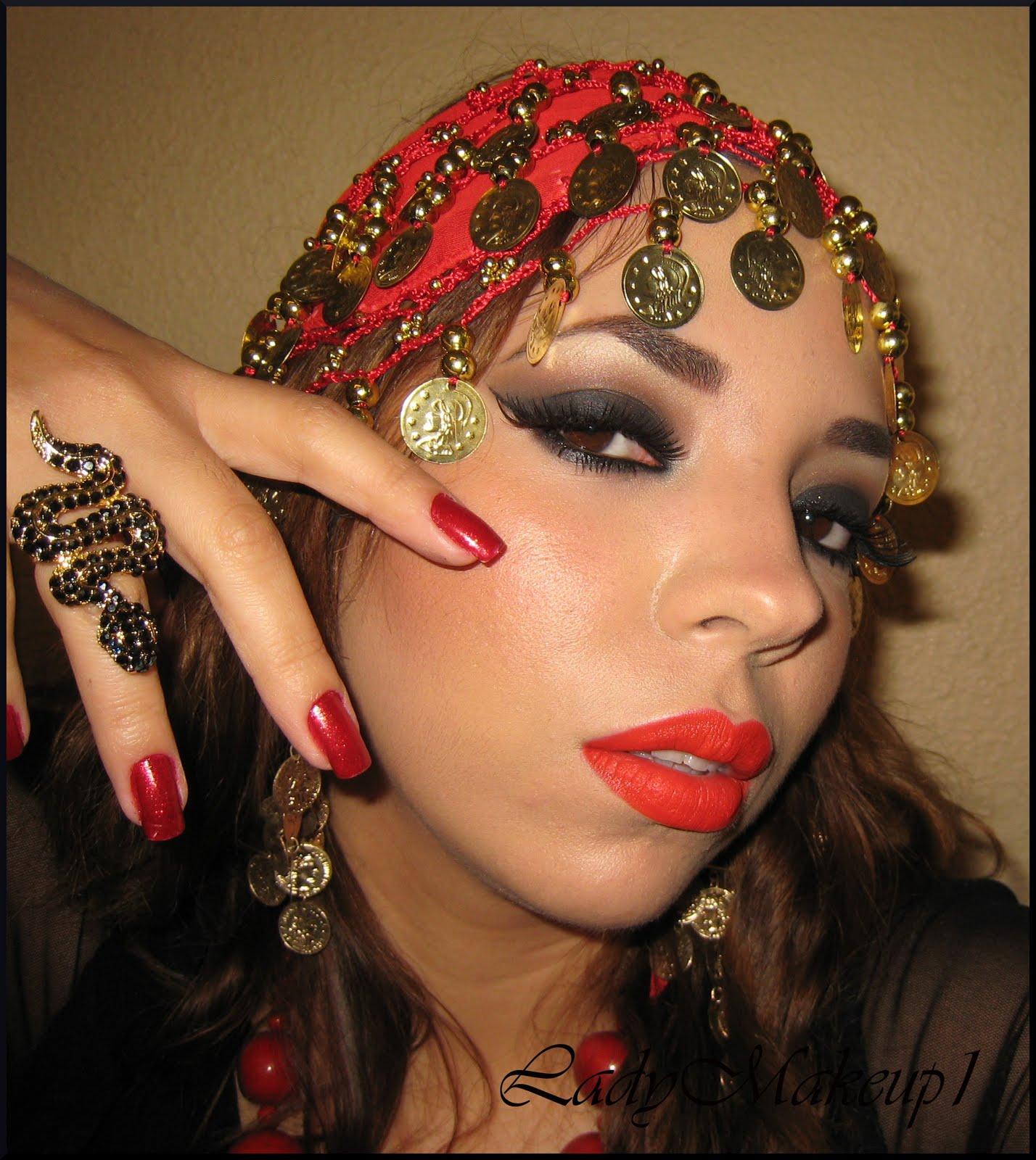 Gypsy Makeup Maquillaje Gitana Dreams Colors