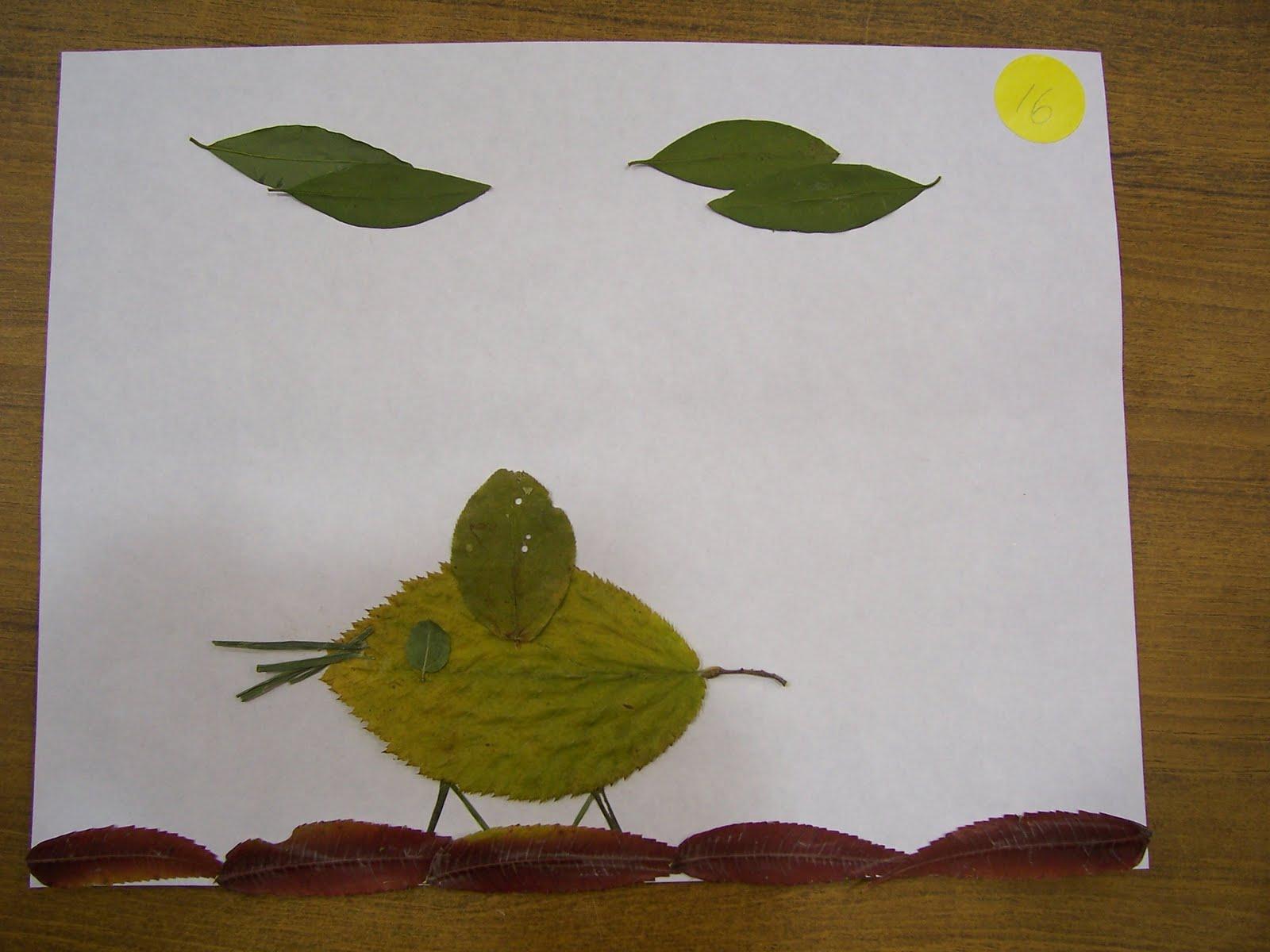 Scribbles Leaf Art Ii