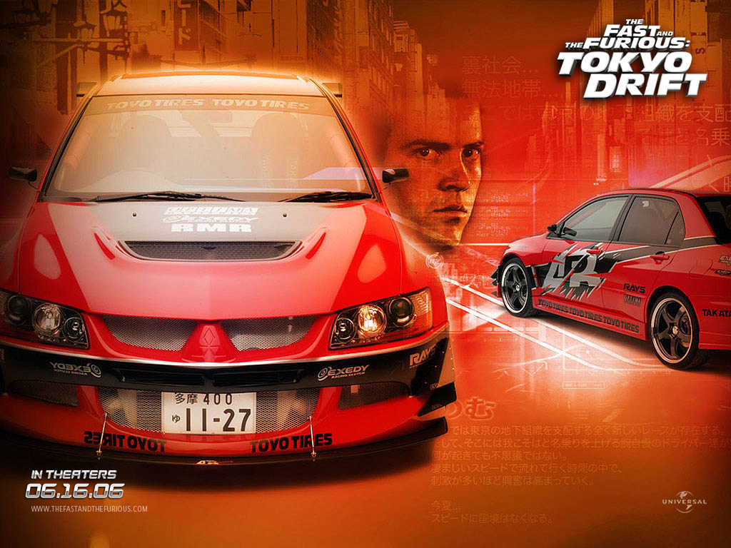 Sexy brunette in fast and the furious tokyo drift