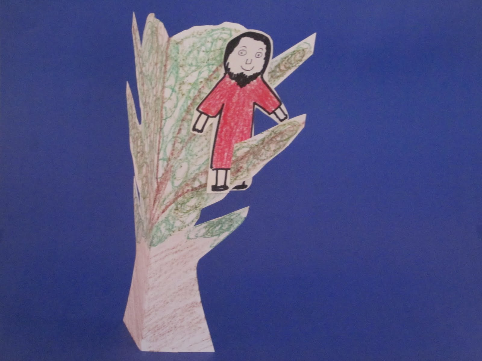 Ideas Unlimited Zacchaeus Meets Jesus Bible Story Amp Lesson