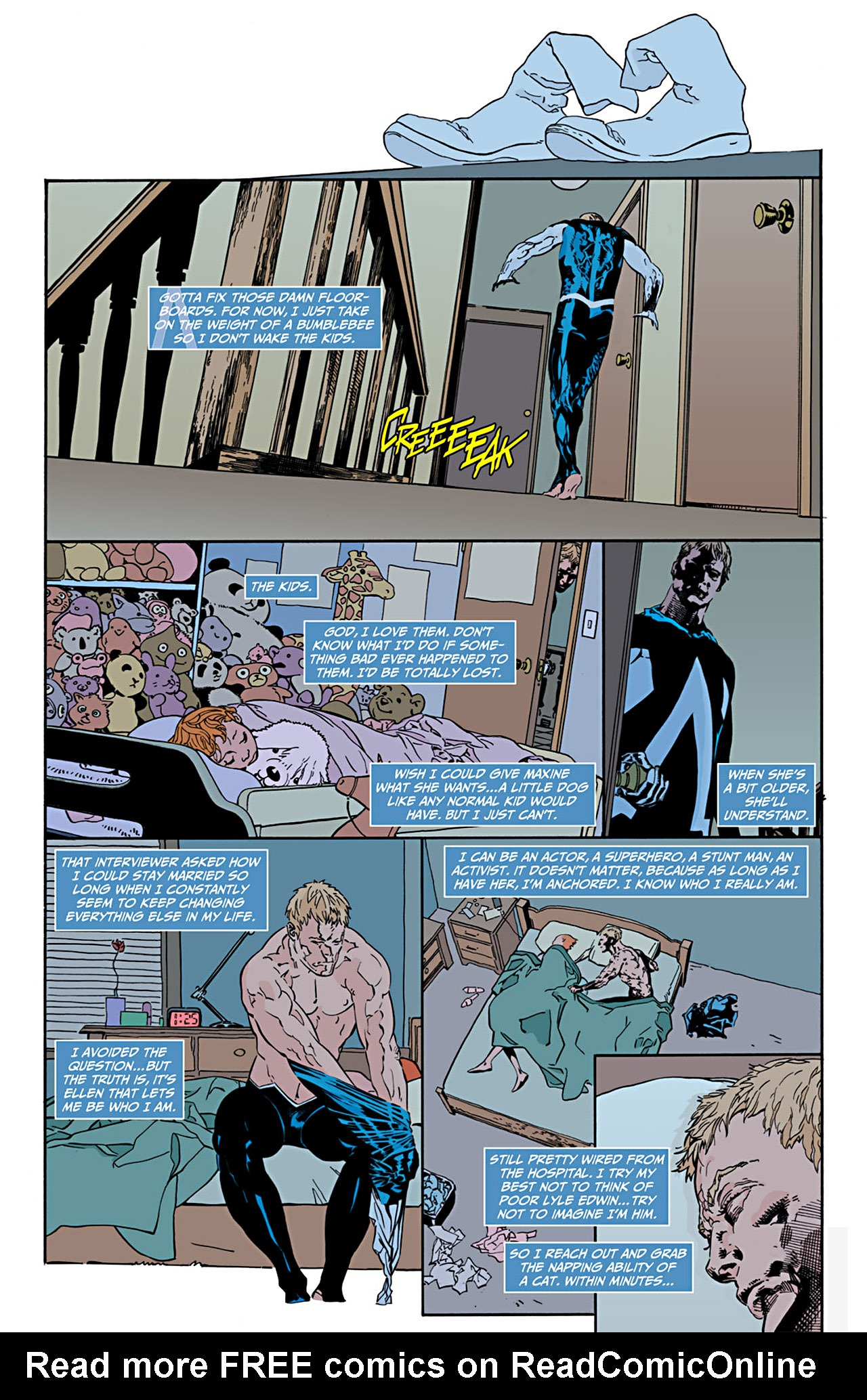 Read online Animal Man (2011) comic -  Issue #1 - 15