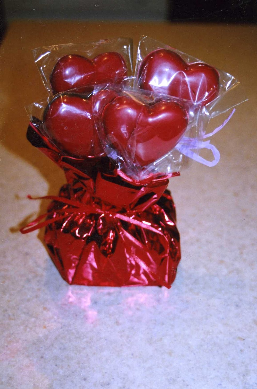 Valentine S Day Chocolate Heart Lollipops
